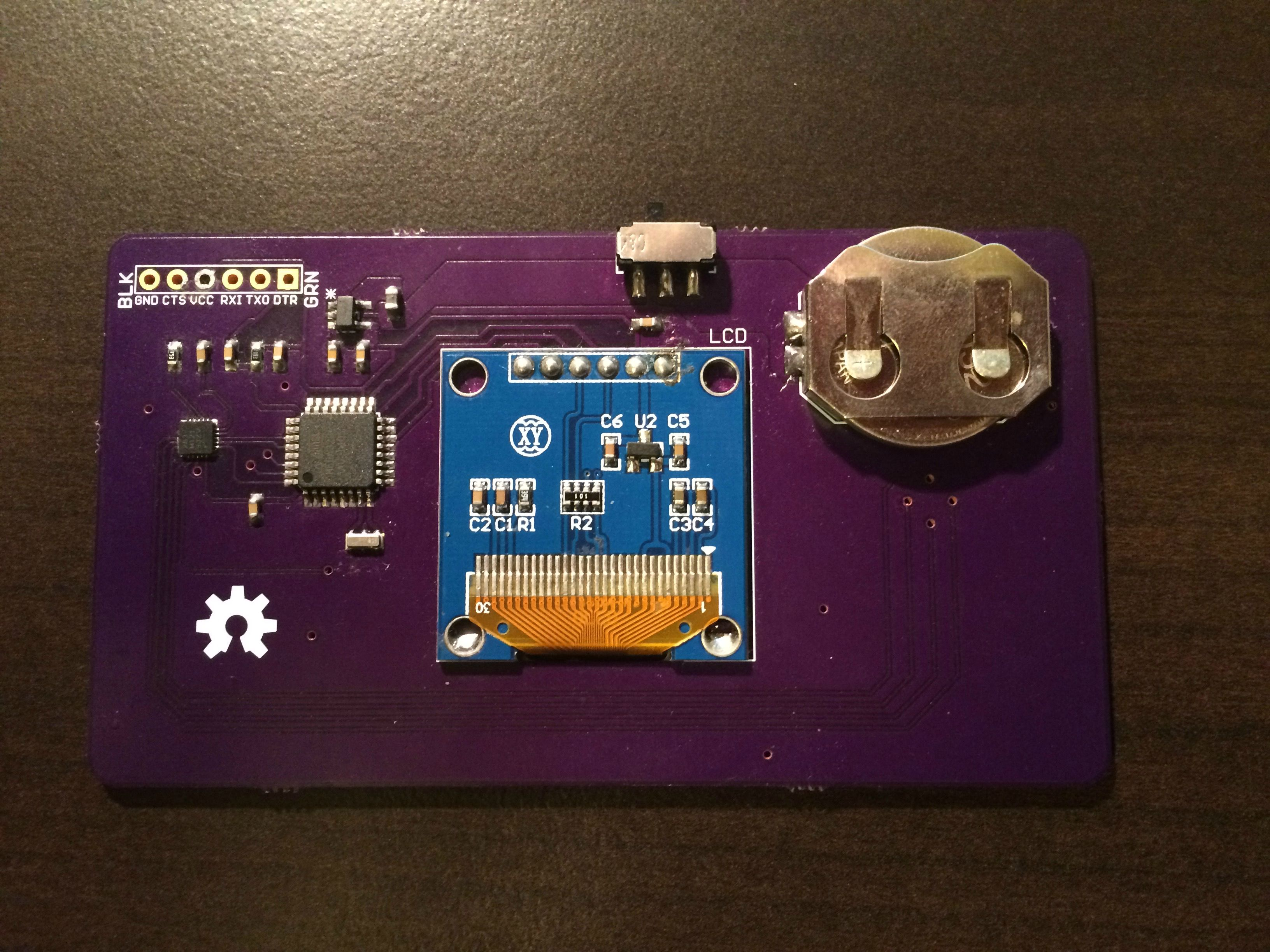 Arducard – The Arduino Business Card – Alex Wende
