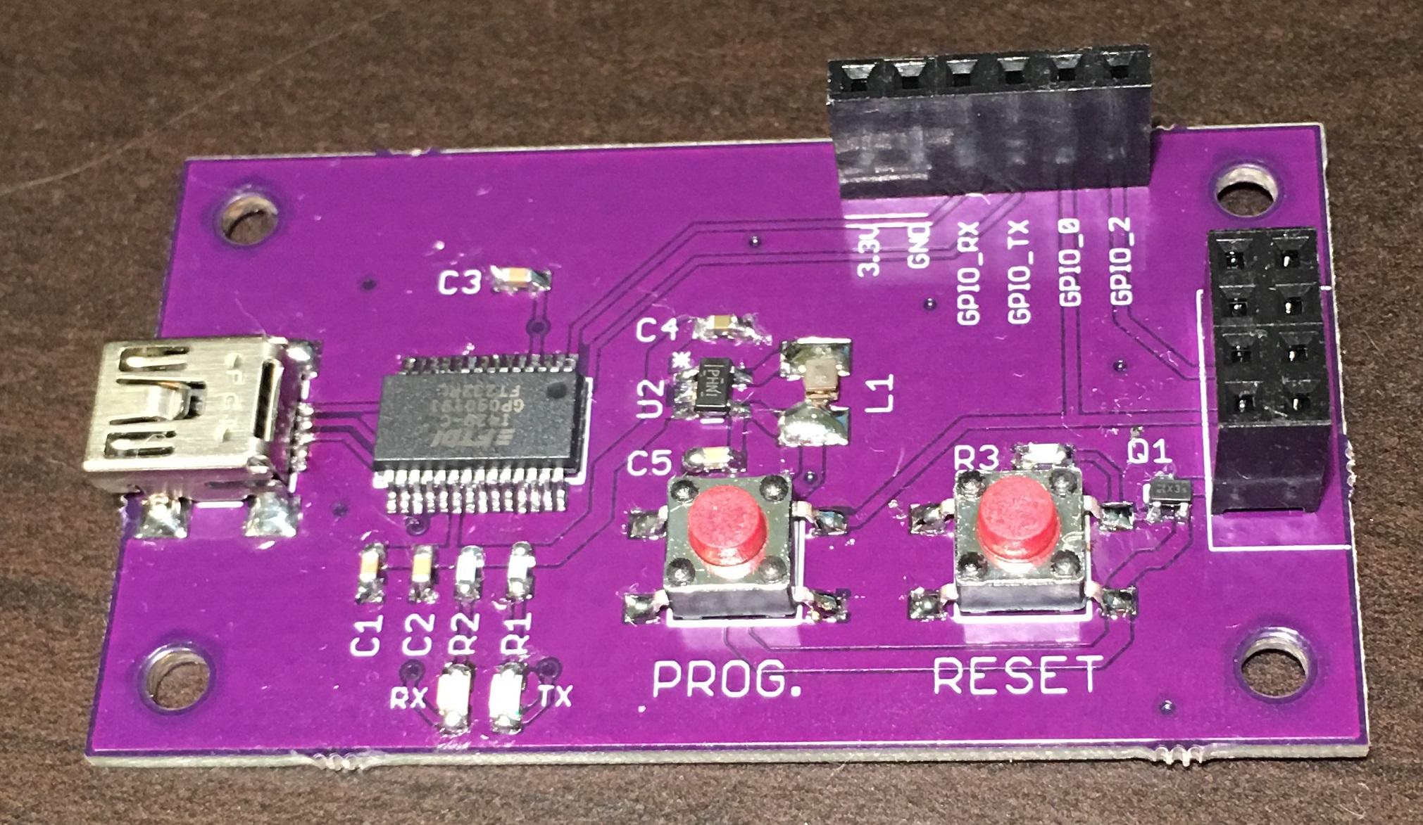 Alex Wende Electrical Engineer Magneticfieldsensor Electronicslab Esp 01 Programmer Front