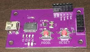 ESP-01 Programmer Front